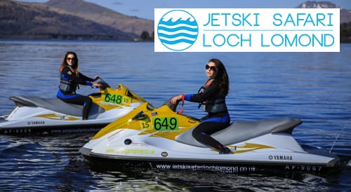 jet ski safari lock lomond